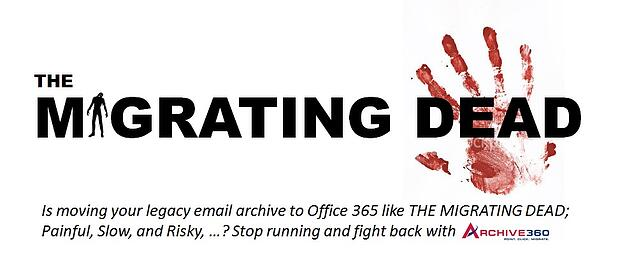 Email Archives and zombies have a lot in common